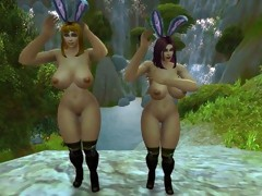 Warcraft Breasty Human Bunnies