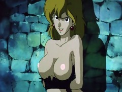 Manga Titties in LUPIN