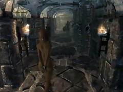 Skyrim villainess Elenwen screwed whipped pt1