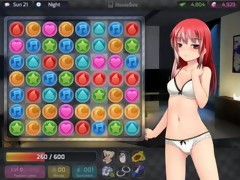 GAME - HuniePop Audrey bedroom stage