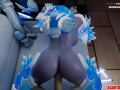 Yet another hot Overwatch porn compilation for..